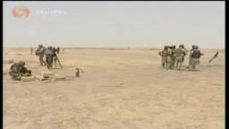 تعاون بين القوات الامريكية والعراقية على استخدام اسلحة متطورة