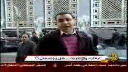 تقرير الجزيرة عن حرية المدونات  ....والتعذيب