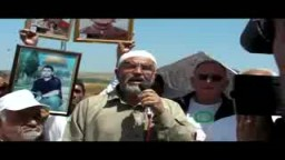 الشيخ رائد صلاح فى يوم الاسير الفلسطينى