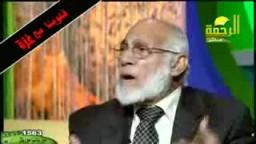 الدكتور زغلول النجار يجاهد بكلمة حق عند سلطان جائر على الهواء مباشرة !!!.