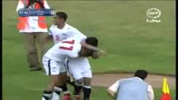 هدف الفوز لمنتخب مصر فى مباراة روندا ضمن التصفيات المؤهلة لكأس العالم2010