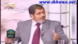 د/ محمود عزت ود / محمد مرسي يدافعان عن أفكار الأستاذ سيد قطب في حوار ساخن