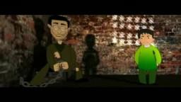 رسالة جلعاد شاليط  ההקלטה של גלעד שליט Gilad Shalit cartoon