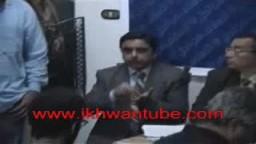 مؤتمر صحفى فى انتخابات مصر 2005 المرحلة الثانية بحضور الدكتور اسامة نصر