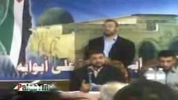 الدكتور سامى ابو زهرى ..المتحدث الرسمى بأسم حركة حماس..يلقى محاضرة سياسية