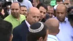 طرد ضابط من الشرطة الصهيونية من خيمة الشيخ رائد صلاح