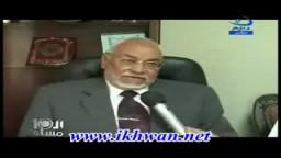 فضيلة الاستاذ //محمد مهدى عاكف المرشد العام ينفى شائعة إستقالتة