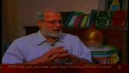 كلمة الدكتور محمد حبيب ...مع مدير مكتب الجزيرة فى القاهرة  حول القضية المثارة للمرشد العام
