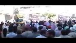 فاطمة موسي مرشحة الإخوان المسلمين بكفر الشيخ  تتحدث إلي أهالي سيدي سالم