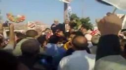تأييد شعبي واسع خلال صلاة العيد للمهندس سعد الحسيني مرشح الإخوان على مقعد الفئات بمدينة المحلة