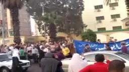د/منال أبو الحسن مرشحة الإخوان /دائرة مدينة نصر ومصر الجديدة وصلاة عيد الأضحى