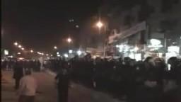 هجوم الأمن على مسيرة مرشح الإخوان .. شبرا الخيمة الأستاذ جمال شحاتة