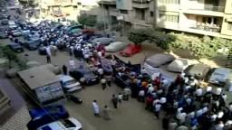 مسيرة تأييدية للنائب الإخوانى الشيخ سيد عسكر مرشح الإخوان بدائرة طنطا للانتخابات البرلمانية 2010