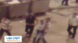 شاهد .. الإعتقالات والبطش الأمنى الظالم لأنصار مرشحى الإخوان بميدان الساعة بالإسكندرية