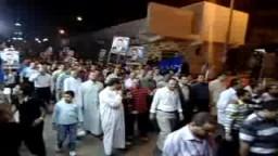 مسيرة تأييد للدكتور إبراهيم عراقى مرشح الإخوان المسلمين بالمنصورة بشارع الدراسات