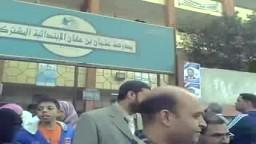 د/ ياسر عبد الوهاب مرشح الاخوان المسلمين فى امبابة فى زيارة للجنة عثمان بن عفان