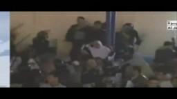قناة الجزيرة تبث : الإعتداء على الإخوان بالمحلة وتعلن النتائج الأولية للفائزين والإعادة