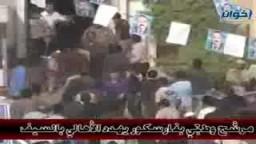 مرشح الوطني بفارسكور يهدد الأهالي بالسيف