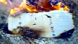 حرق أوراق التصويت في مدرسة المبرة في دائرة فارسكور