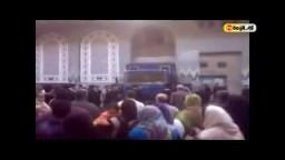 اخلاء سبيل 45 من اخوان الاسكندرية--هتافات الإخوان المعتقلين وأهالى الإسكندرية عقب إخلاء سبيلهم