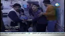 يوميات العدوان الصهيونى على غزة -اليوم الثانى