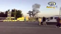 في الذكرى الثانية للمحرقة الصهيونية على غزة لحظة قصف معبر رفح المصرى--2