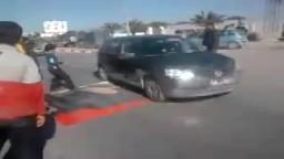 مظاهر احتفال الشعب التونسي بسقوط الطاغية زين العابدين بن على