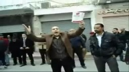 الشعب التونسي يرفض سرقة الثورة ويرفض حكومة محمد الغنوشي العميلة للرئيس المخلوع بن على