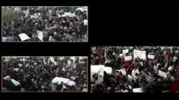 تونس : مسيرات ضد حكومة محمد الغنوشي عميل الرئيس المخلوع بن على