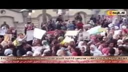 استمرار احتجاجات طلاب المدارس القومية احتجاجا على وقف قرار تحويل المدارس إلى تجريبية