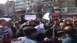 مظاهرة في السويس تأييدا لتونس