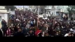 عشرات الاف التونسيين ضد حكومة محمد الغنوشي العميلة لنظام بن على