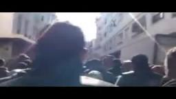 آلاف التونسيين ضد حكومة محمد الغنوشي العميلة لنظام بن على