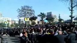 إحتجاجات واسعة بالقاهرة .. يوم 25 يناير 2011