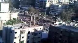 مظاهرات مصر 25 يناير  2011