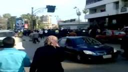 مظاهرات 25 يناير - المنصورة 8