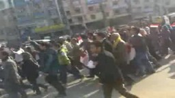 مظاهرات 25 يناير من المنصورة--9