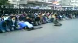 مظاهرات 25 يناير فى مصر ---مدينة الاسماعيلية--2