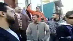 مظاهرات يوم الغضب 25 يناير بمدينة دمنهور