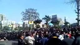 مظاهرات شارع جامعة الدول العربية فى يوم الغضب 25 يناير