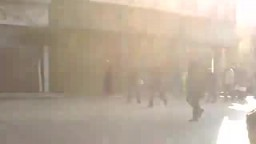 إعتداء الأمن على المتظاهرين فى يوم الغضب 25 يناير