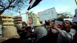 مظاهرة يوم الغضب بالزقازيق الشرقية .. 25 يناير