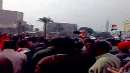 المعتصمون بميدان التحرير