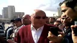 الدكتور محمد سليم العوا يشارك مع المتظاهرين فى ميدان التحرير