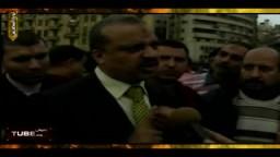 لقاء مع الدكتور البلتاجى المشارك مع المتظاهرين بميدان التحرير