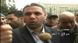 تعليق الدكتور أحمد دياب بخصوص عدوان البلطجية والأمن ضد المتظاهرين