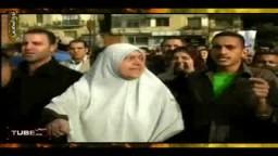 جموع المتظاهرين بميدان التحرير يريدون إسقاط النظام المصرى