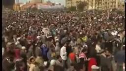 مؤثر..الملايين فى صلاة الجمعة من ميدان التحرير .. جمعة الرحيل