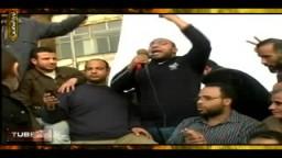 حصرياً .. شاب يلقى قصيدة من ميدان التحرير