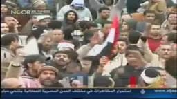 د/ محمد البرادعى يناشد الرئيس مبارك بالرحيل والتنحى